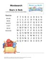 Thumb-BearsInBeds Wordsearch 1